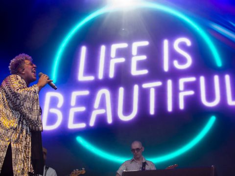 Brittany Howard performs n the Downtown Stage during day one of Life is Beautiful on Friday, Se ...